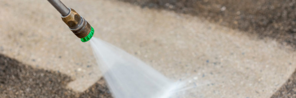 One of our crews can pressure wash your outdoor surfaces
